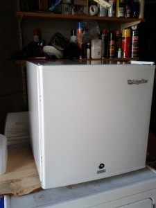 image of a mini freezer